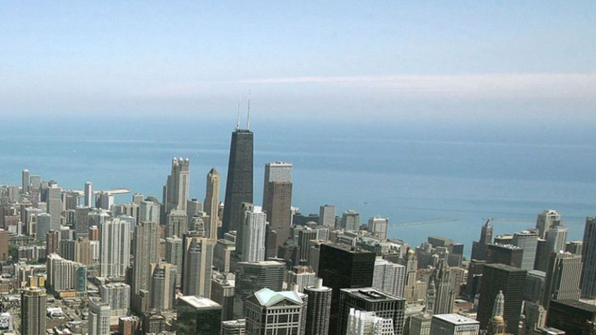 Chicago skyline (Source: NBC Chicago).