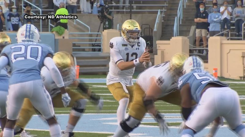 Notre Dame got a statement win over North Carolina 31-17 earlier today and once again it was...