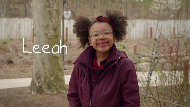 Leeah is a 10-year-old who has been waiting for adoption for the past two years.