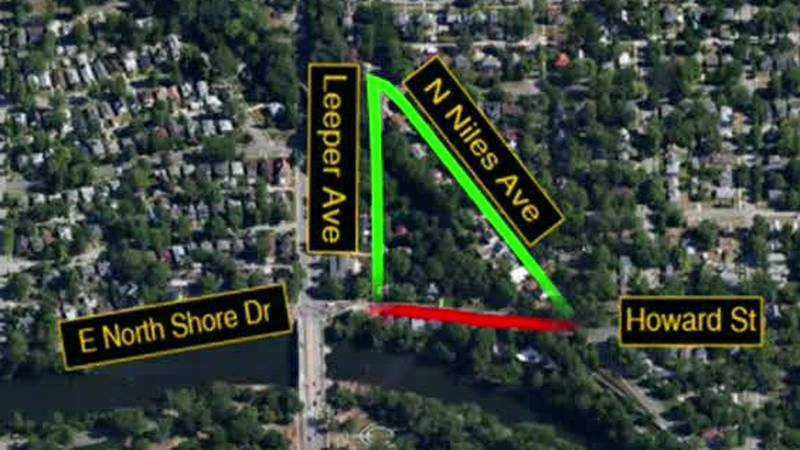 Portion of North Shore Drive closed