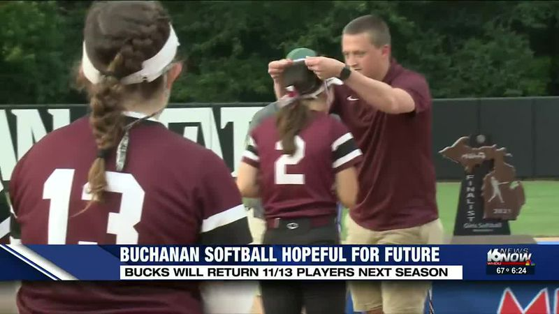 Buchanan softball remains optimistic for future after state title run