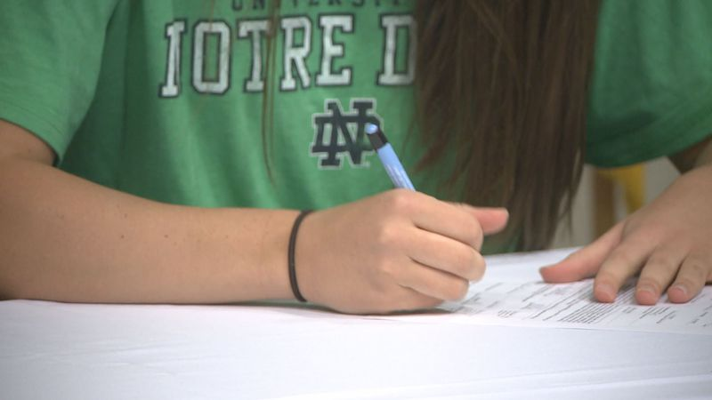 Several Michiana athletes put pen to paper on Early National Signing Day.