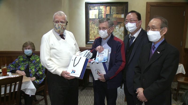 The Consul General of the Republic of Korea held a mask delivery ceremony for Korean War...