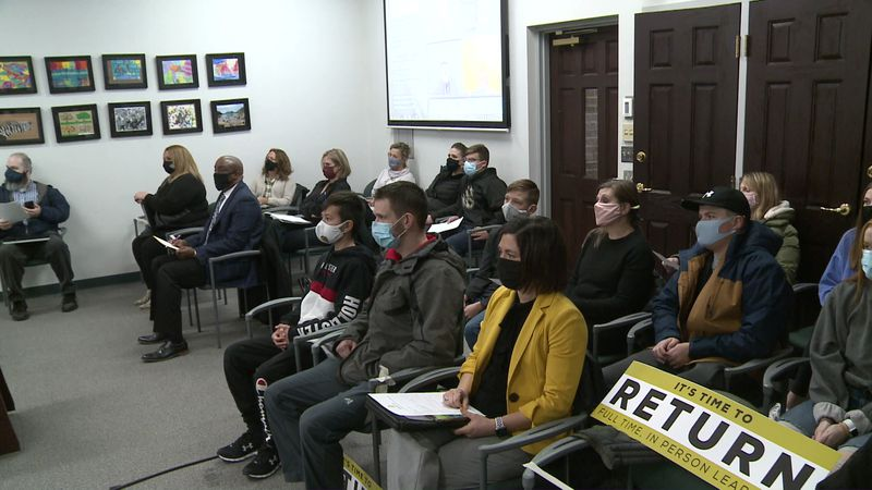 The PHM school board met to go over their Return to Learn Plan to bring all students back to...