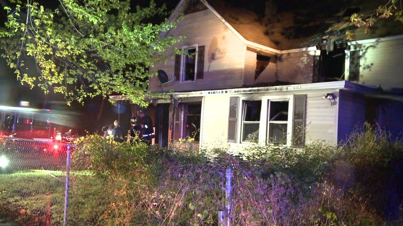 Crews responded to a deadly house fire in Benton Harbor.