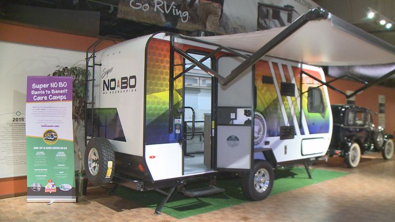Rollin' On TV is partnering with Forest River to raffle off a Super NO BO travel trailer.