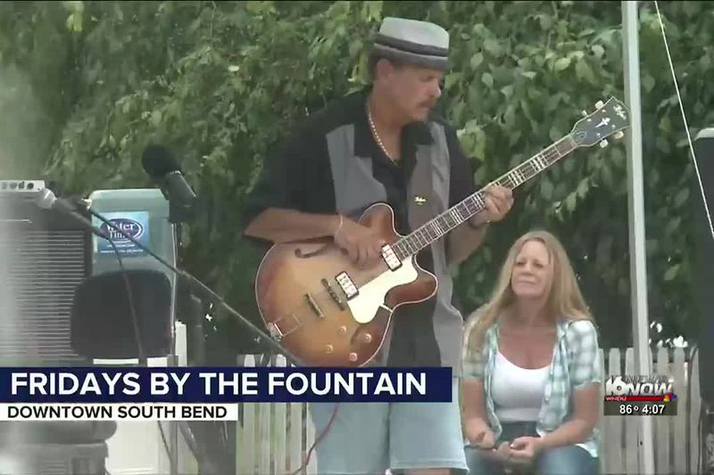 Fridays by the Fountain are back at John R. Hunt Memorial Plaza