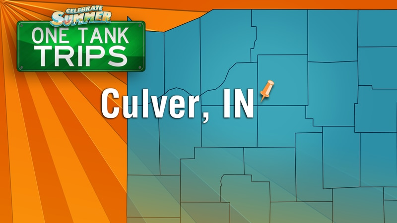 Culver Indiana is a great place to cool down this summer and it's where I'm at for today's One...