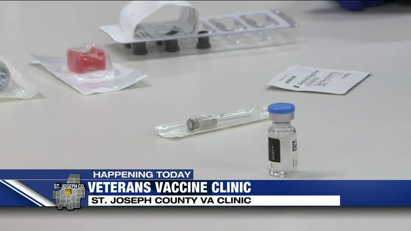 St. Joe VA hosts vaccine clinic for veterans, spouses, caregivers