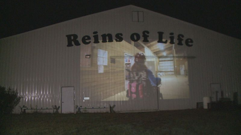 "Reins of Life in South Bend will host ""Spooky Stables Cinema"" every Friday in October."