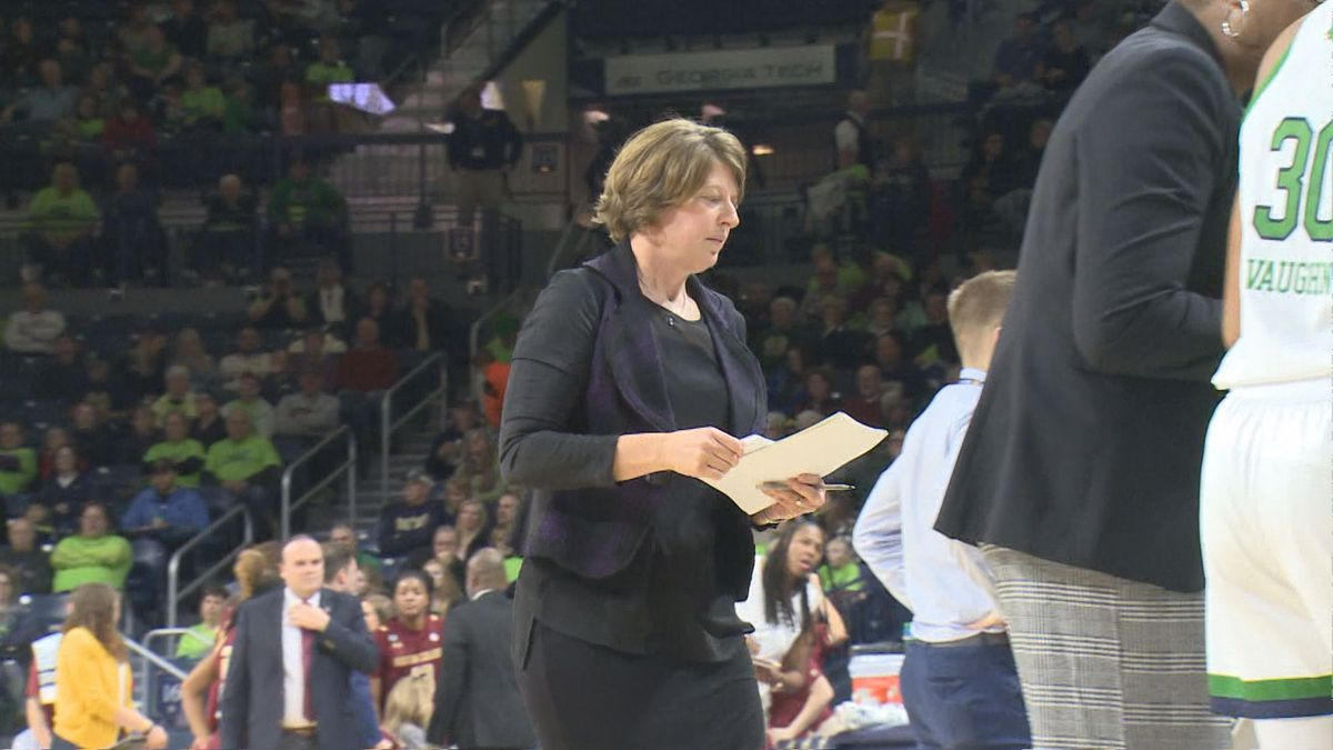 Morgan-Cunningham had been a Fighting Irish assistant for the past eight seasons.