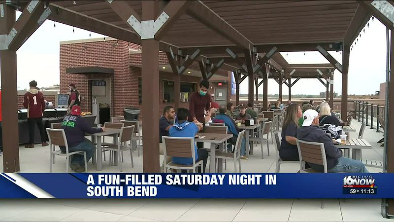 It was a beautiful evening to get out and enjoy all that downtown South Bend has to offer.