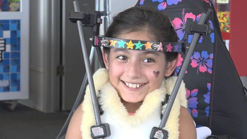 Family & Friends show support for girl battling rare disease