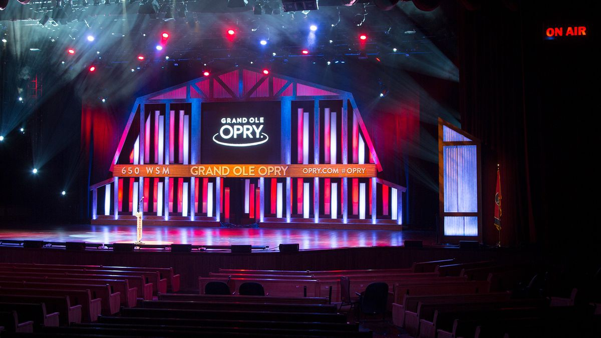 The Grand Ole Opry will livestream its Saturday concert from an empty venue. (Source: Circle)