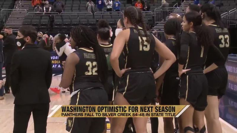 """I'm going to tell you what."" South Bend Washington girls basketball coach Steven Reynolds Jr...."