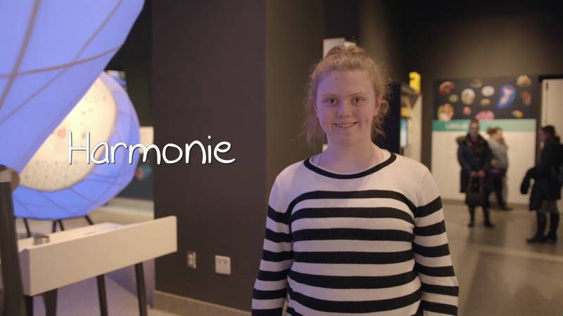 Harmonie has the perfect name; she absolutely loves music.