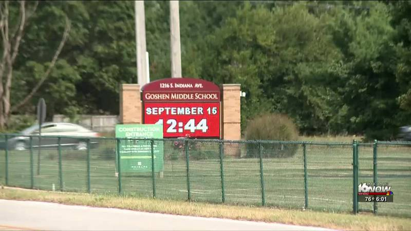 We're learning more about an incident at Goshen Jr. High School regarding a student bringing a...