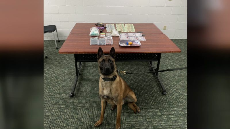 Officers found meth, paraphernalia, and evidence of dealing meth.