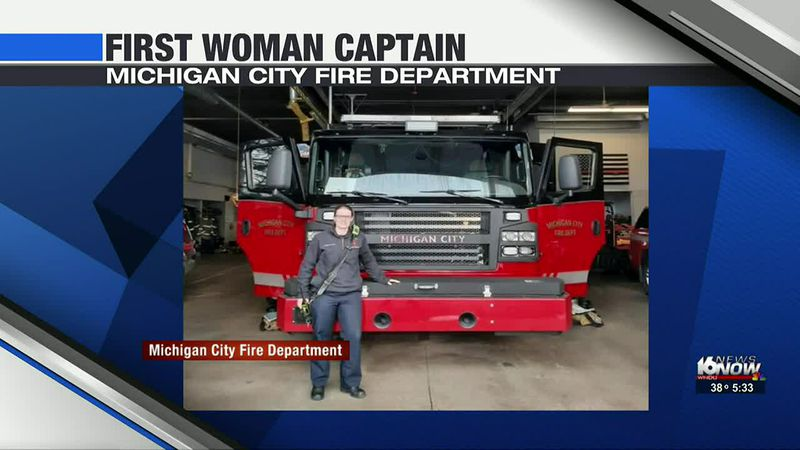 First woman becomes captain at Michigan City Fire Department