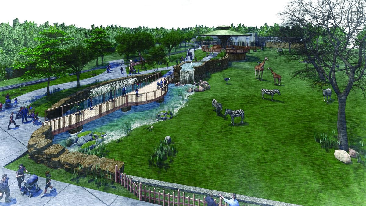 Potawatomi Zoo announces fundraising campaign; plans to add giraffes
