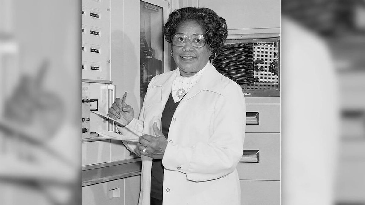 Jackson was a mathematician and aerospace engineer who was part of a group of women who helped NASA succeed in getting American astronauts into space. (Source: CNN/NASA)