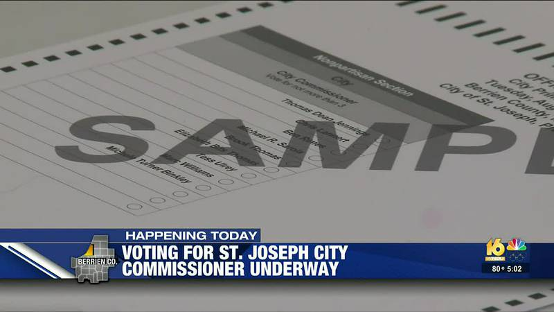 Nine people are running for three open commissioner seats.