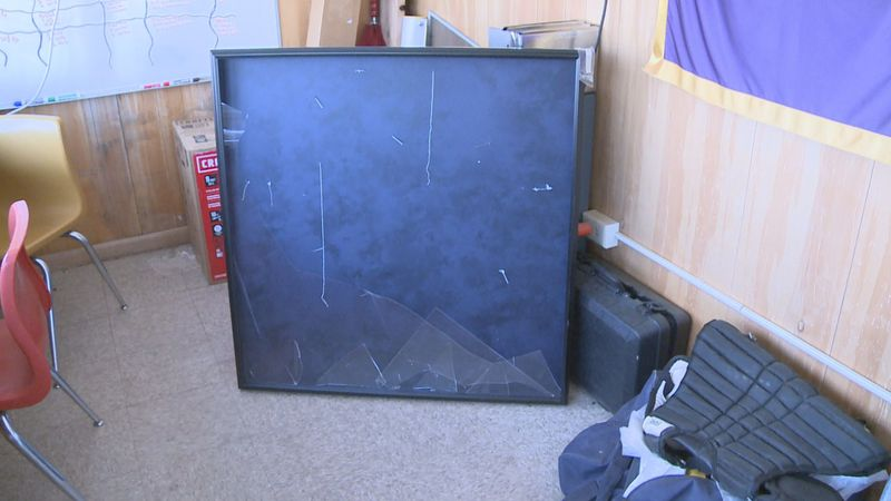 Thieves steal jersey of late Clay HS baseball coach, Jim Reinebold, out of display case after...
