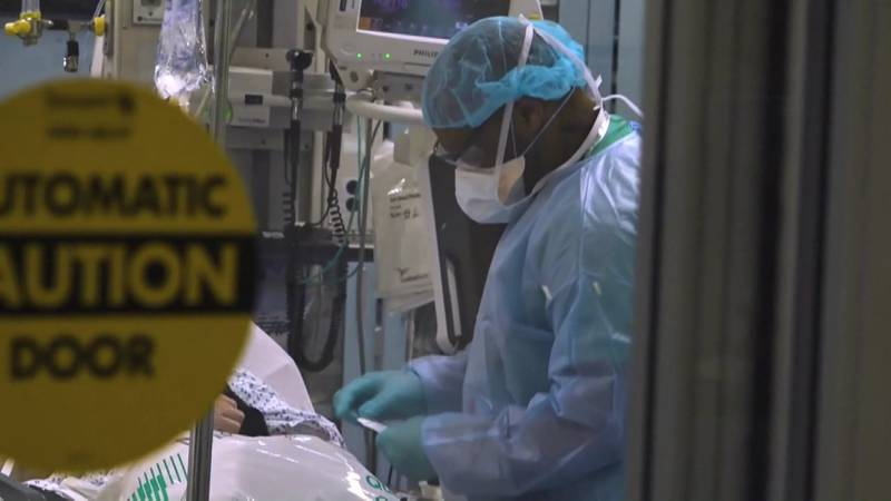 In St. Joseph County, some hospitals have had to turn patients away because they either don't...