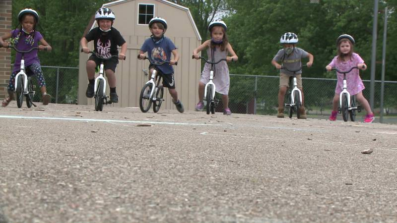 The $1,000 grant will help keep kids moving in the right direction at Ottawa Elementary in...