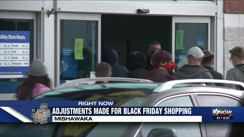 Black Friday shoppers and store breaking with tradition in 2020