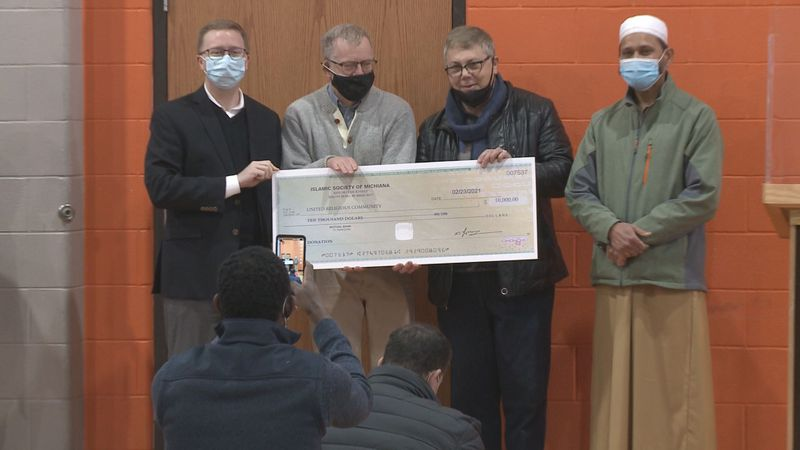 Women at Islamic Society of Michiana in South Bend raise $10,000 to donate to local families...