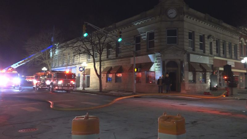 Crews respond to a furnace fire in Plymouth