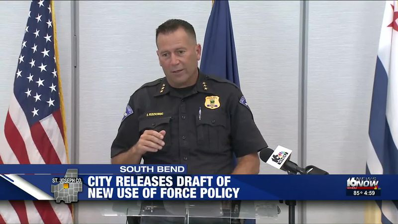City of South Bend releases draft of new use of force policy