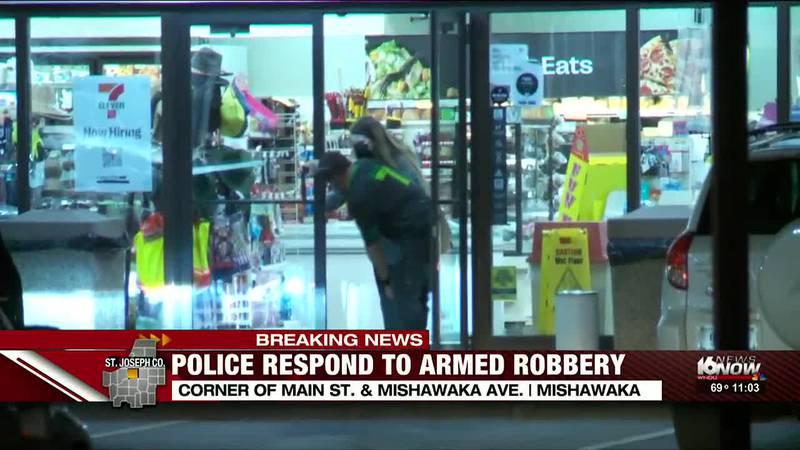 7-11 on Main and Mishawaka robbed Wednesday night