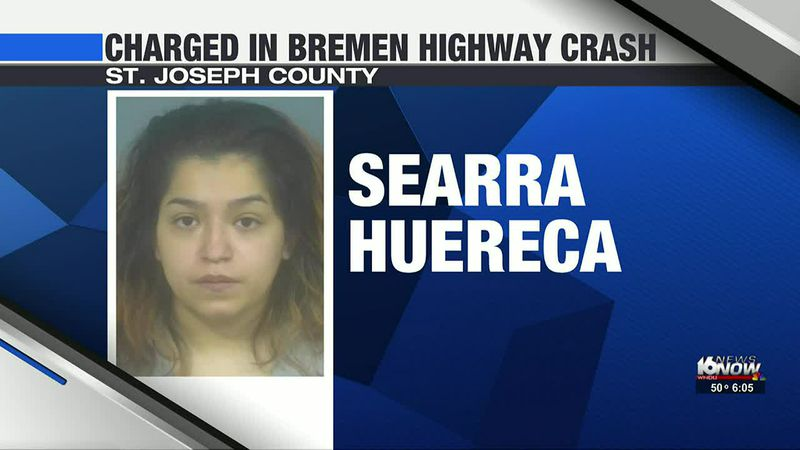 South Bend woman charged in February car crash