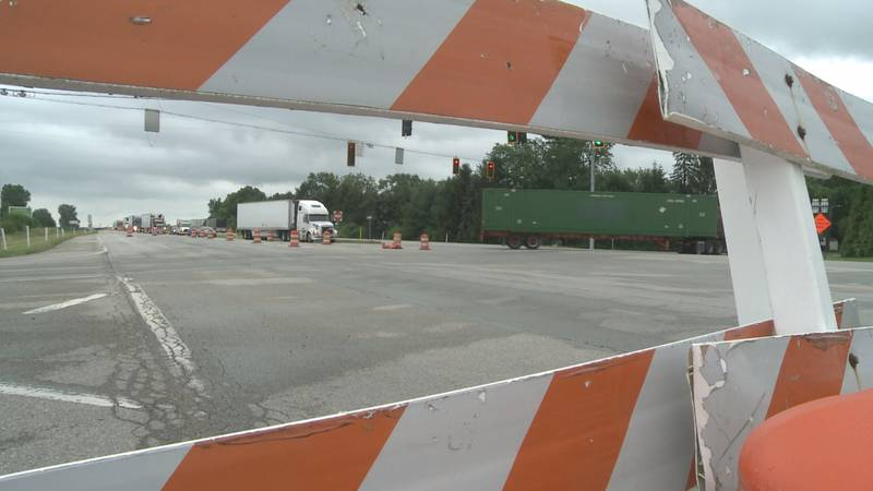 U.S. 30 is closed between S.R. 19 and S.R. 331.