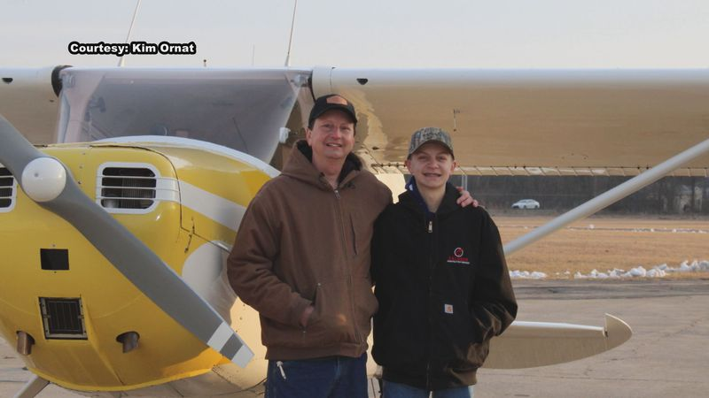 His 16th birthday this past Thursday was not the only thing that Brady Ornat in Elkhart was...