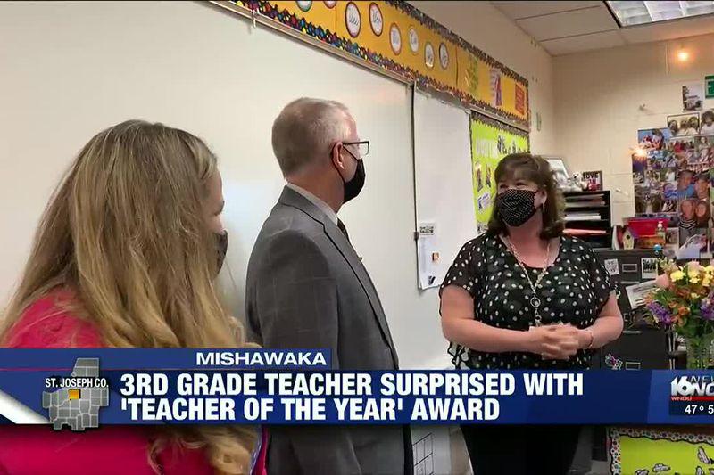 Beiger teacher named Mishawaka's Elementary Teacher of the Year