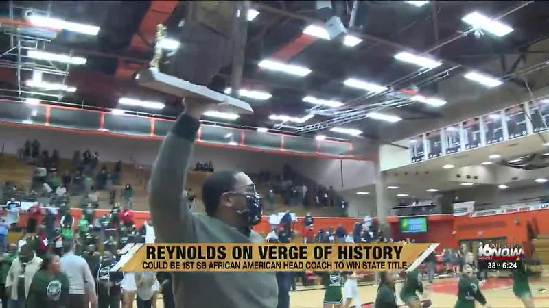 Reynolds on verge of history