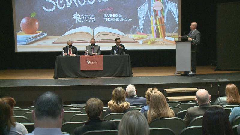 All three superintendents stressed was how important it is to have students learning in person.