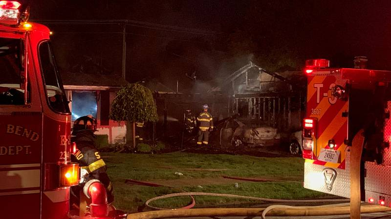 Early morning house fire in South Bend