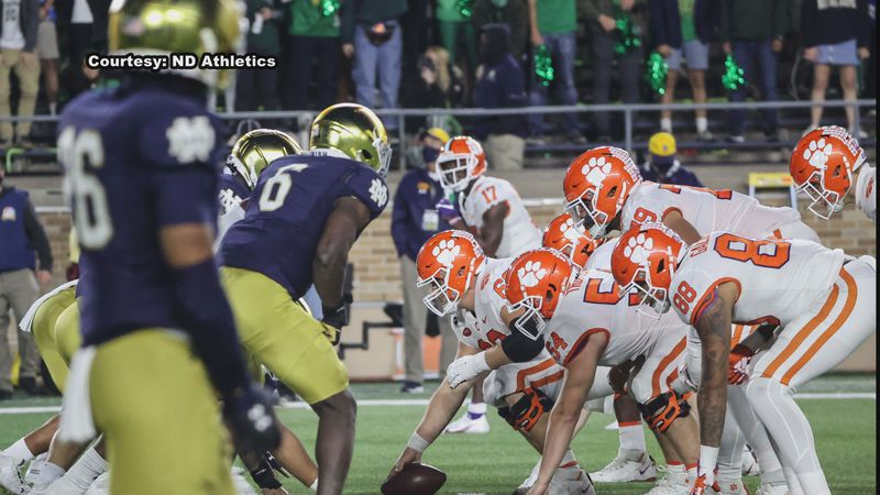 For the first time in Notre Dame Football history, the Fighting Irish are gearing up to play in...