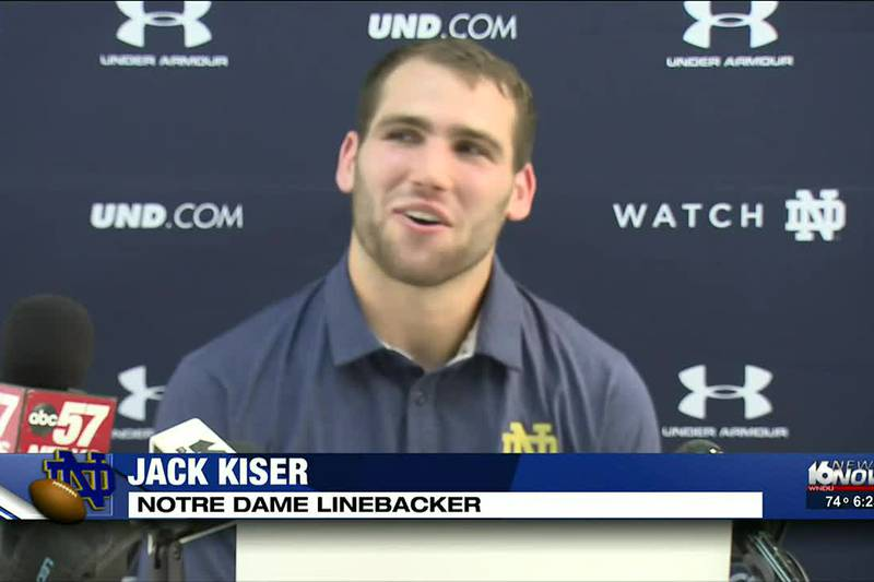 Kiser grew up just about halfway between Notre Dame and Ross-Ade stadiums. He's seen blue and...