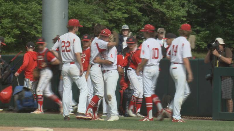 Lakeshore Baseball fell to Orchard Lake St. Mary's, 9-0, in the division two state title game...
