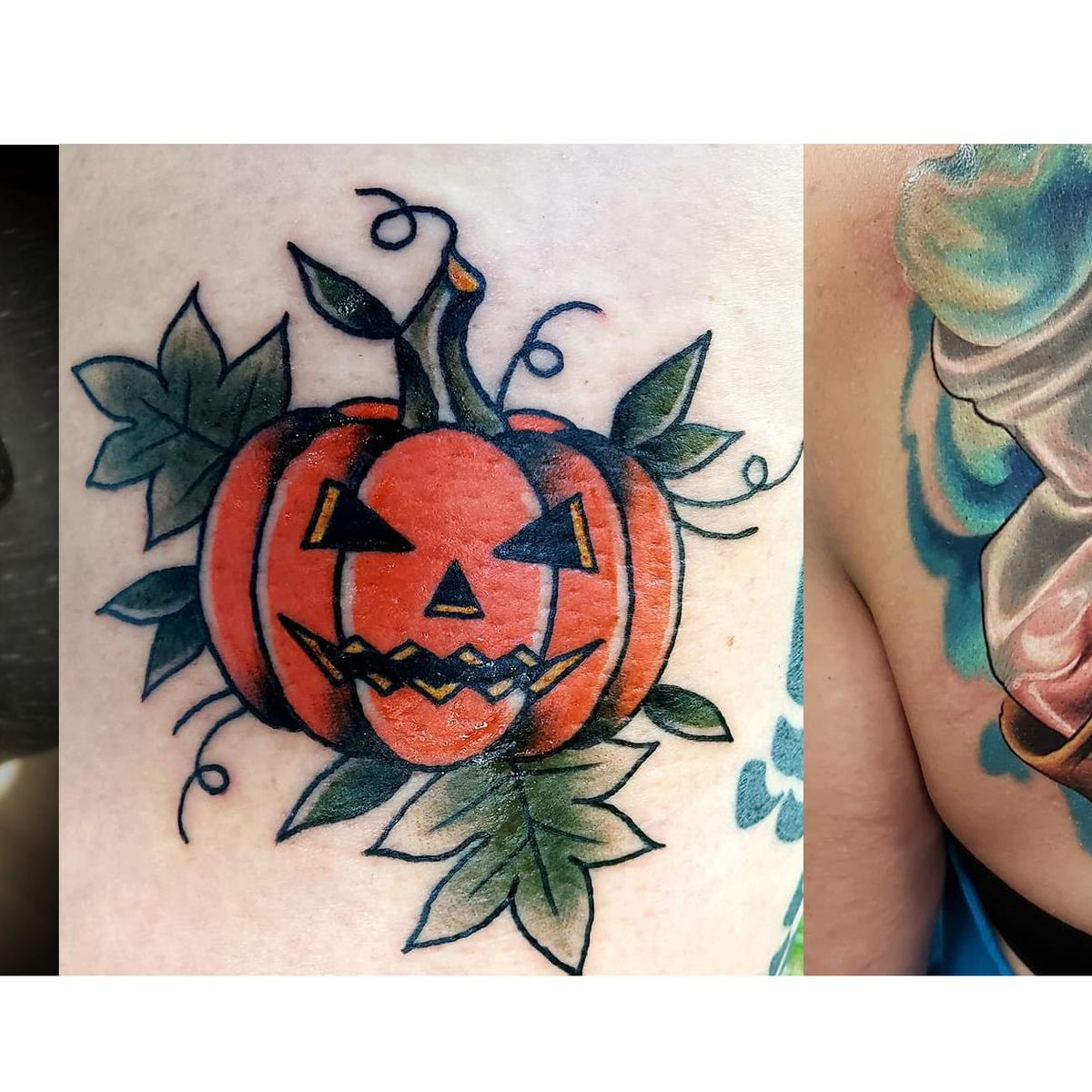 Halloween Enthusiasts Celebrate The Season By Getting Tattoos