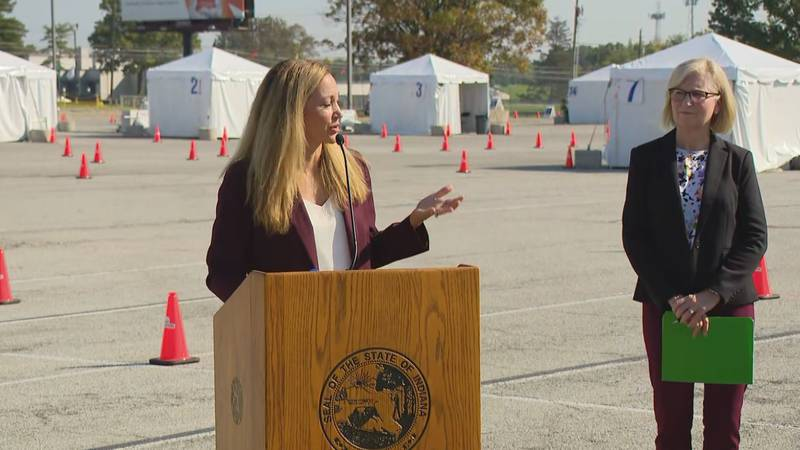 State Health Commissioner Dr. Kristina Box says she wanted to highlight a decrease in daily...