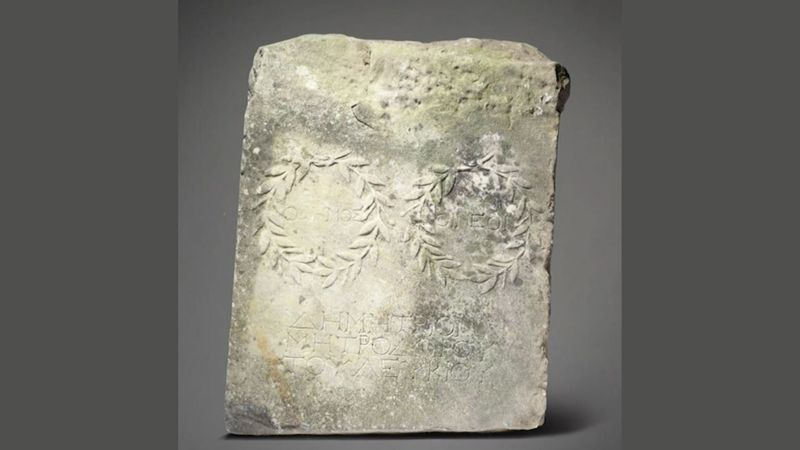 An archaeologist dated it to the second century, with likely origins in Greece or Anatolia.