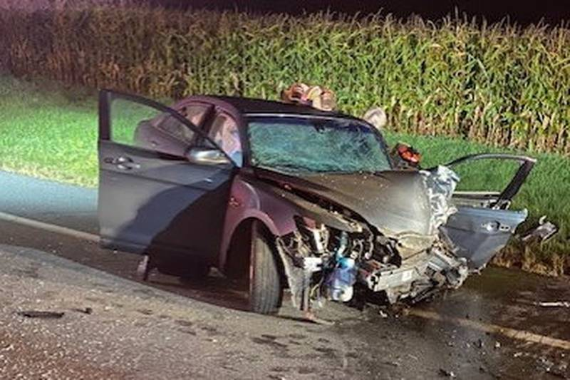 Two injured in Cass County, Michigan crash