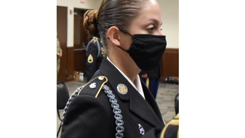 A South Bend woman makes history after graduating from infantry school of the Indiana National...