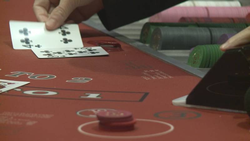 Blackjack, crisscross poker, three card poker, and Mississippi stud--later this summer, people...